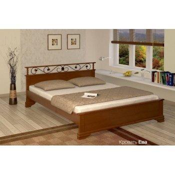 Кровать Ева с ковкой