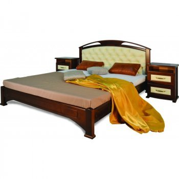 Кровать Омега с мягкой вставкой
