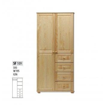 Шкаф двухстворчатый Витязь 109
