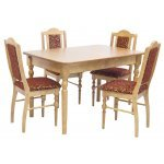 Деревянные обеденные столы из массива